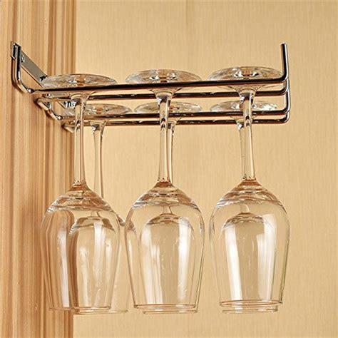 wine glass holder cabinet rack and hook stemware glass rack wine glass holder wall