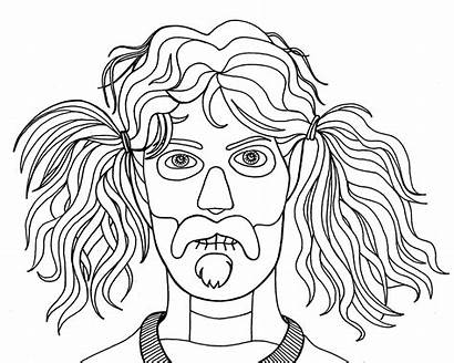 Coloring Pages Zappa Weird Strange Dumb Getcolorings