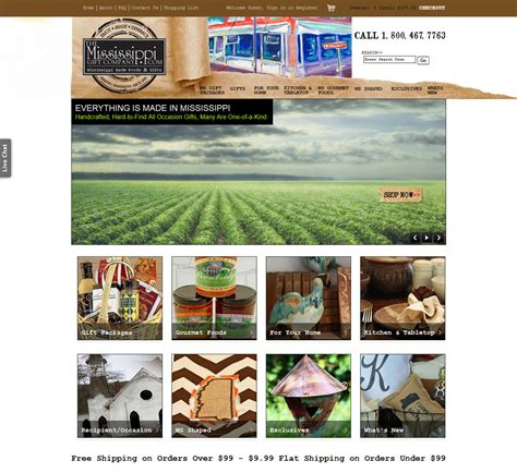home interiors and gifts website website features hundreds of products made in mississippi