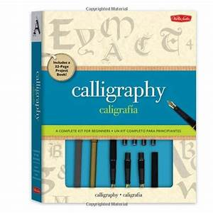calligraphy learning books best deals and price With calligraphy kit a complete lettering kit for beginners
