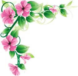 program for funeral flower border png clipart best