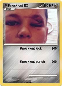 Poku00e9mon M Knock Out Ex Knock Out Kick My Pokemon Card