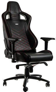 fauteuil bureau gaming fauteuil de bureau gaming faux cuir noir noblechairs