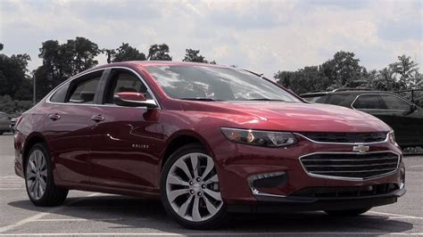2018 Chevrolet Malibu Review Youtube