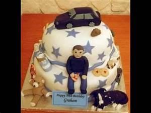 Cool Birthday cake ideas for men - YouTube