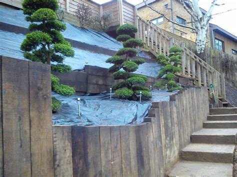 retaining wall on steep slope 1000 images about landscaping terracing on pinterest terraced garden gardens and