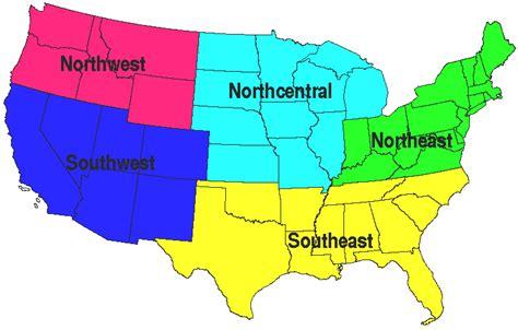 Usa Regions Based On Census