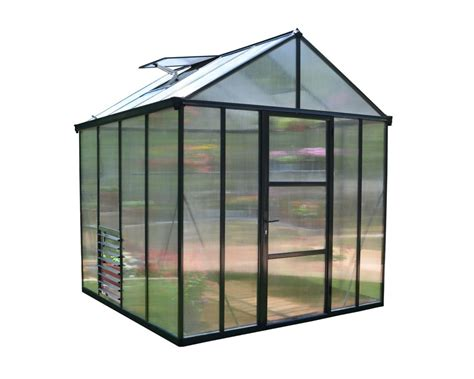 grow ls home depot palram deluxe snap n grow 8 ft x 16 ft greenhouse the