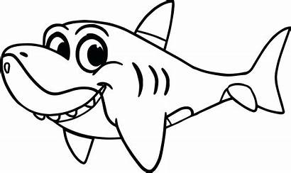 Shark Coloring Pages Printable Sheets Source