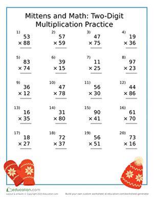 4th grade winter worksheets free printables education