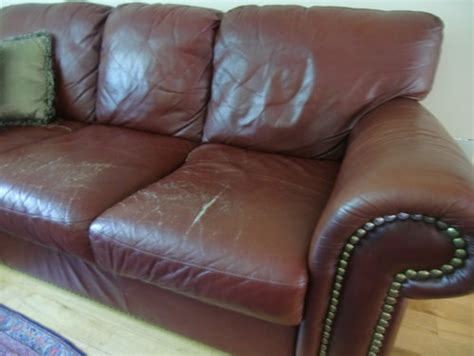 Leather sofa is ruined. needs to be replaced