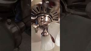 How to fix ceiling fan lights that don t work on a hunter ridgefield