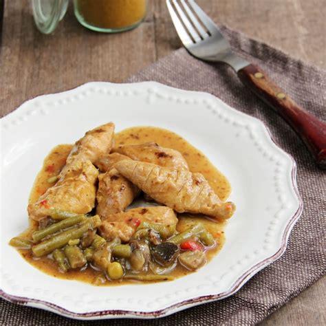 plat cuisin minceur plat cuisiné hyperprotéiné poulet curry pour régime