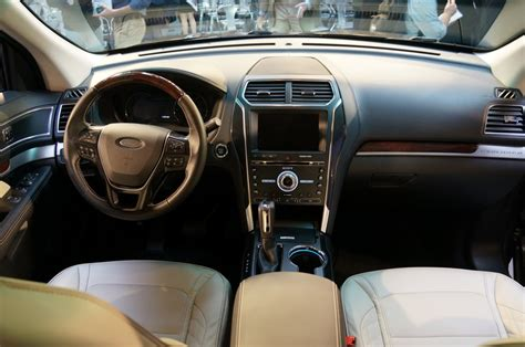 ford explorer  interior  ford explorer interior  car reviews  ford explorer