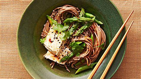 soba noodle bowl  tofu