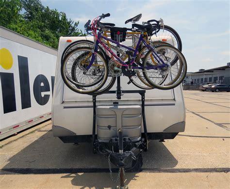 bike rack for rv stromberg carlson bike bunk trailer mounted bike rack