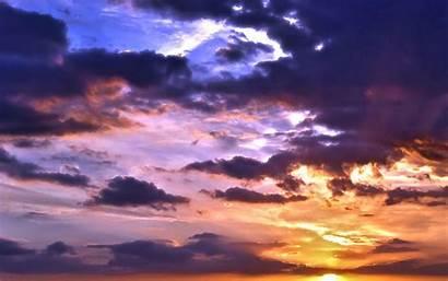 Sky Backgrounds Wallpapers Sunset Laptop Widescreen Getac