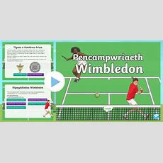 * New * Pŵerbwynt Pencampwriaeth Wimbledon