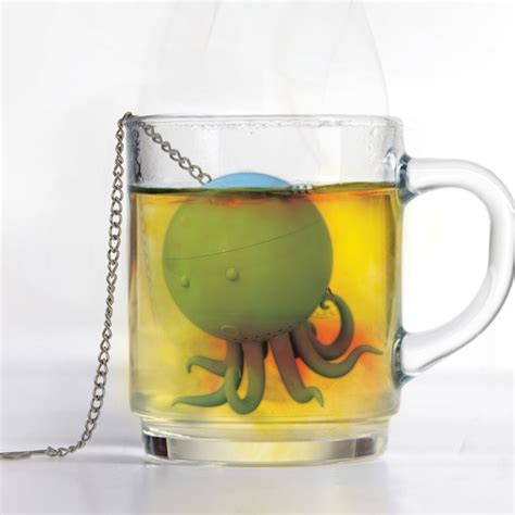 Octeapus Tea Infuser   The Green Head