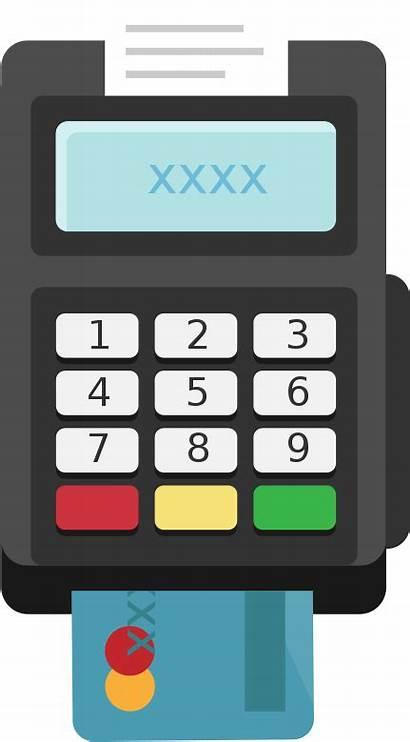 Pos Device Any Simulator Icon Card Terminal