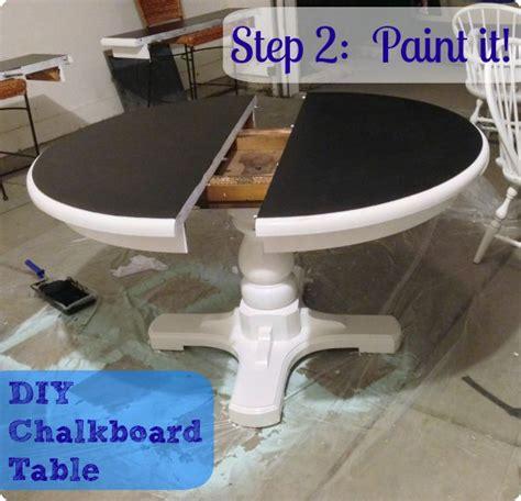 chalkboard paint kitchen table best 25 chalkboard table ideas on play tables