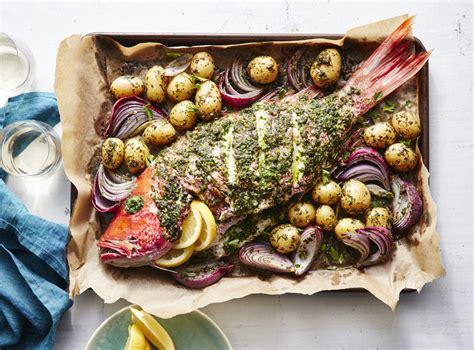 snapper fish whole recipe baked roasted recipes cook myrecipes oven grouper cooking grilled food potatoes pan easy sauce dinner fried