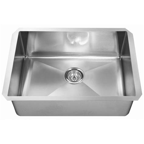 single bowl stainless kitchen sink kindred stainless steel undermount kitchen sinks besto 7957