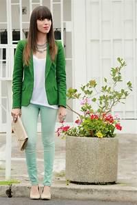 *Jeans Menta* y Blazer Verde - Blog de Moda Costa Rica - Fashion Blog