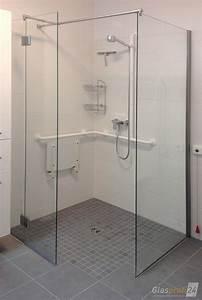 Dusche Mit Glaswand : ebenerdige dusche bauen aus glas glasprofi24 ~ Orissabook.com Haus und Dekorationen