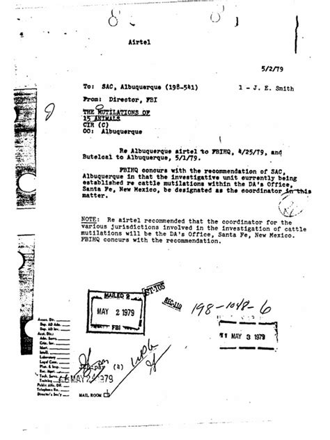 Fbi files are found on both mobile and desktop platforms and can be opened using windows and mac operating systems. FBI Animal Mutilations.pdf   Federal Bureau Of ...