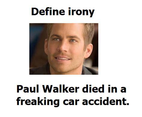 Paul Walker Meme - didnt see that coming paul walker s death know your meme