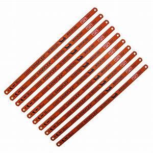 Bahco 3906 Sandflex 18TPI x 10 Pack Bi-Metal Shatterproof