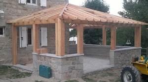 Prix D Une Veranda : prix d 39 une v randa en bois tarif moyen co t de ~ Dallasstarsshop.com Idées de Décoration
