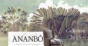 Papier Peint Ananbo : ananb papier peint panoramique ananb la collection 2015 ~ Melissatoandfro.com Idées de Décoration