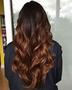 Ombré Hair Marron Caramel : caramel hazelnut ombre ombre hairstylist coiffure ~ Farleysfitness.com Idées de Décoration