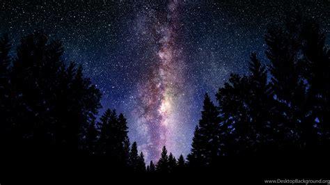 The Milky Way Galaxy Wallpapers Hd Desktop Background