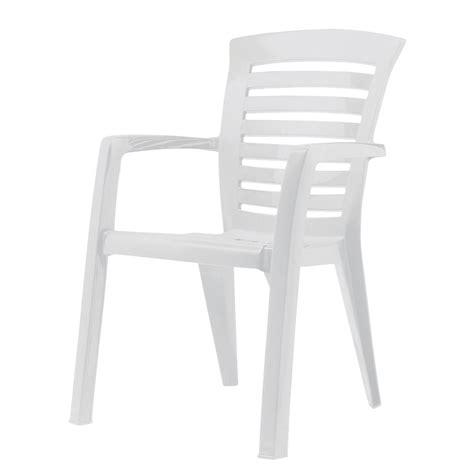 Stapelstuhl Florida  Kunststoff  Weiß, Best Freizeitmöbel