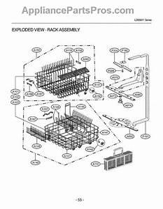 Lg 3751dd1005b Rack Assembly