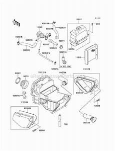 Kawasaki Ex500-d6f Parts List And Diagram