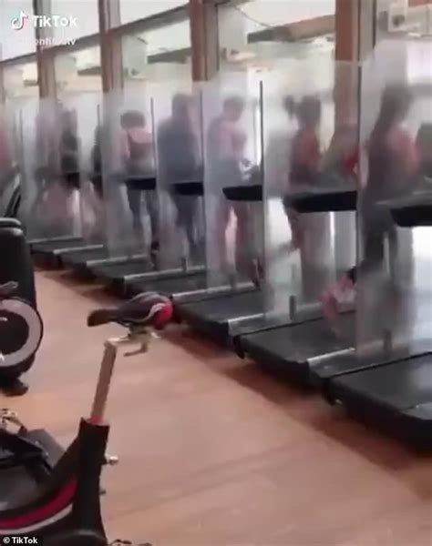 Is this the new normal for gyms? People run on treadmills