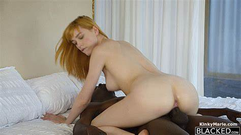 Ginger Aline In Passionate Small Red Hair Penis Interracial