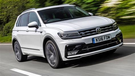 volkswagen r line review the volkswagen tiguan r line top gear