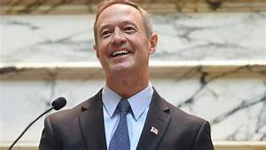 Maryland Gov. Martin O'Malley 'Very Seriously' Looking at ...