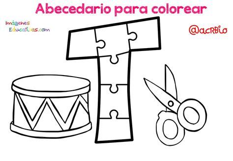 Abecedario para colorear (21) Imagenes Educativas