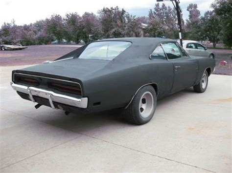 Find Used 69 Charger 4 Speed Project Clear Title 8 3/4 68