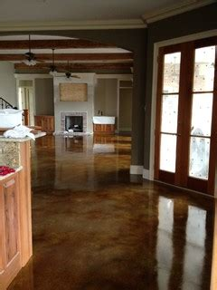floors and kitchens st interior acid stained flooring traditional kitchen 6659