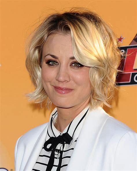 Kaley Cuoco Short Hair Hairstyles