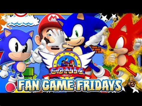 sonic fan games online fan game fridays sonic boll xilfy com