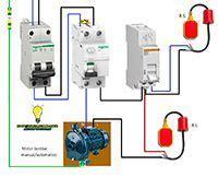 esquemas el 233 ctricos motor bomba mnual automatico hminga electrical installation electrical