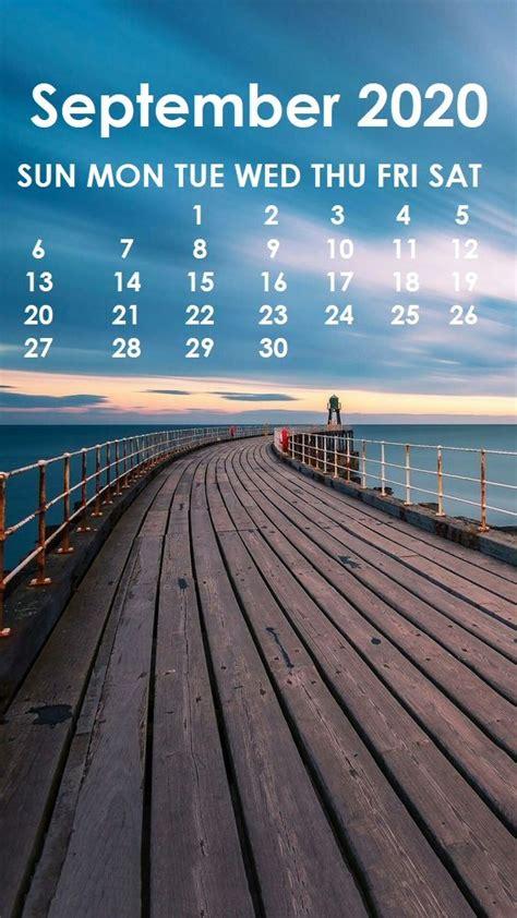 September 2020 iPhone Wallpaper | Calendar wallpaper, Months in a year